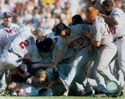 2002 Twins Celebrate ALDS