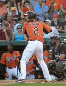 Former Twin JJ Hardy went hitless in 3 at-bats against his old team mates Friday night