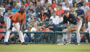 Vlad Guerrero accounted for half of the O's four hits