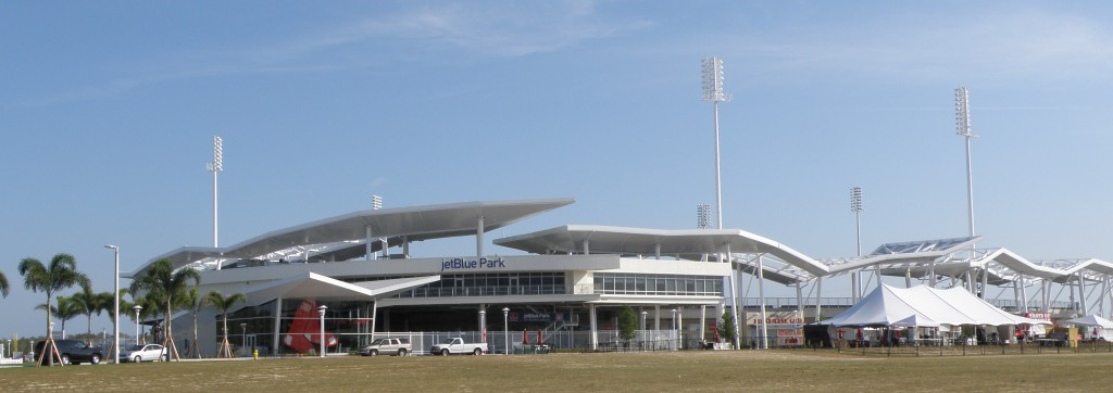 JetBlue Park from the outside
