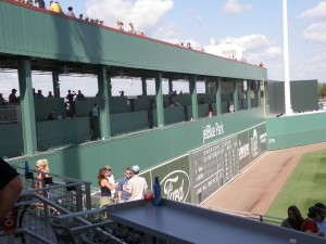"The ""Green Monster"" at JetBlue Park"
