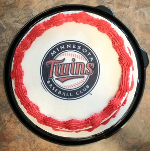 Twins Dairy Queen Cake, 6/21/2012