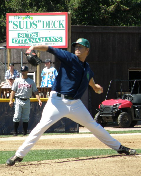 David Hurlbut went six innings Sunday, giving up just one run on two hits, while striking out five Rattlers
