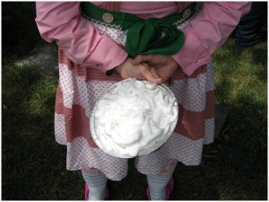 shaving cream pie