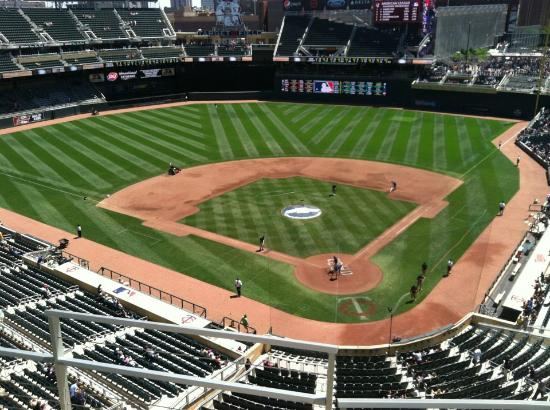 Could this be a glimpse of what Target Field will look like during Twins games in 2013?