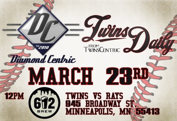 Twins Daily Viewing Party graphic