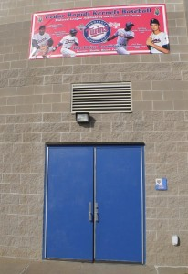 Players entrance to the ballpark