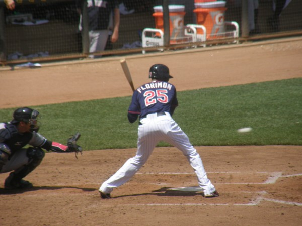 Florimon at bat