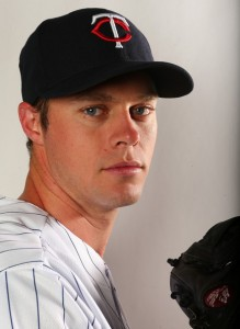 Andrew Albers #95 of the Minnesota Twins poses for a portrait on February 19, 2013 at Hammond Stadium in Fort Myers, Florida. (February 18, 2013 - Source: Elsa/Getty Images North America)