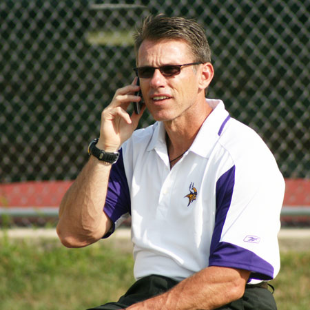 Vikings GM Rick Spielman