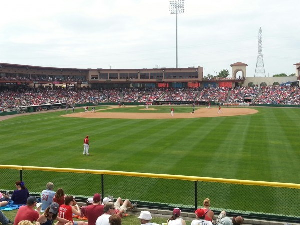 Twins visiting the Phillies at their Bright House Field home in Clearwater