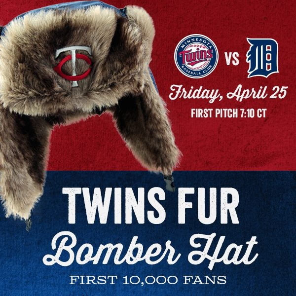 Twins Bomber Hat Giveaway