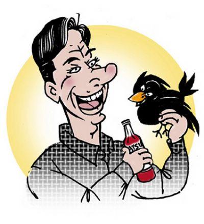 crow eat