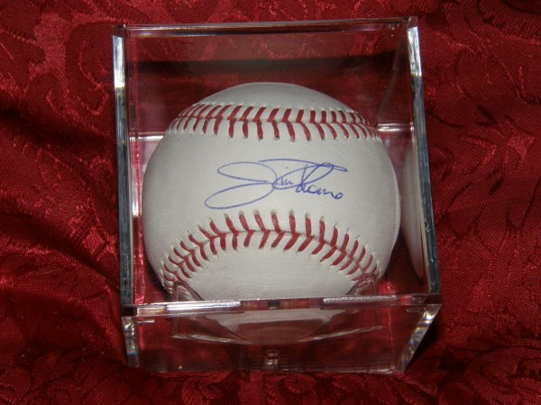 Jim Thome signed baseball