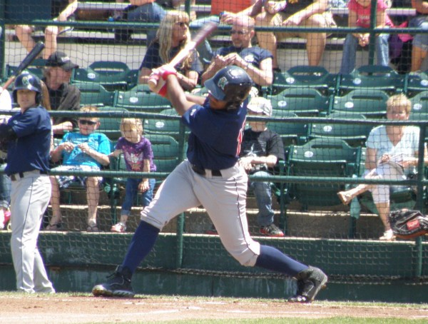 Leadoff hitter JD Williams