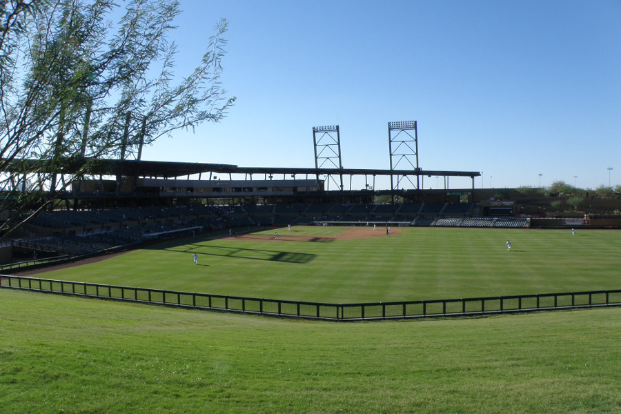 Salt River Field - Home of the Rafters and the D'Backs/Rockies spring training site