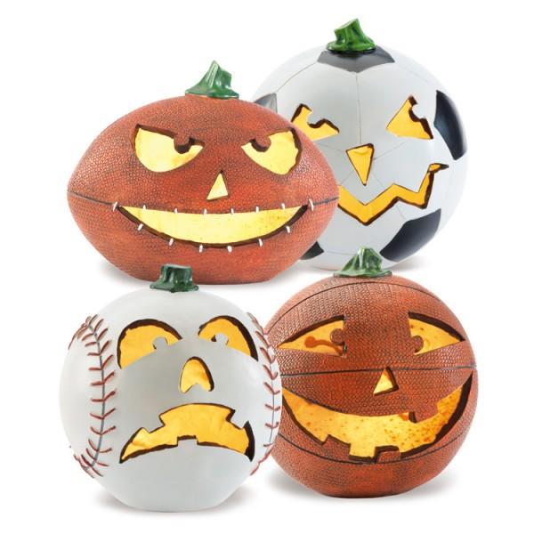 Sport-Jack-O-Lanterns
